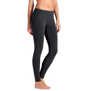 New ATHLETA Gray Metro Leggings Mid Rise Small